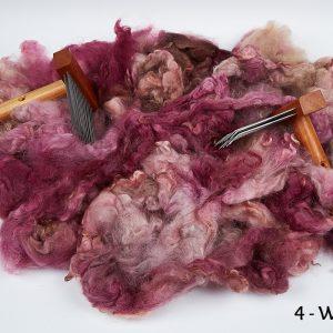 Hand Dyed Washed Fleece